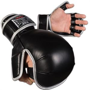 Wrist Wrap MMA Grappling Gloves